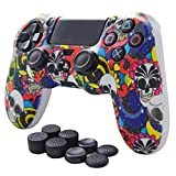 Pandaren Anti-Slip Silicone Cover Skin PS4 Grip Set for PS4/SLIM/PRO Controller