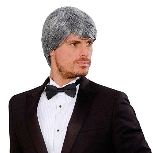 WIDMANN j9224?Hombre peluca Drea mhair Simon en caja, Gris