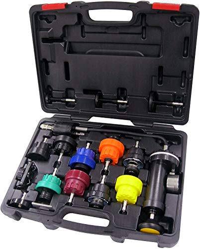 Why Should You Buy Aain 16 PCS Universal Radiator Pressure Tester, Vacuum Type Cooling System Kit fo...