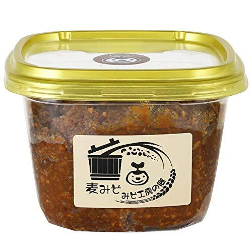 麦みそ 650g 甲州味噌 合わせ味噌 青大豆 手造り 無添加 天然醸造