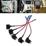 Adaptador para tapón de fusibles de coche de 12 V con aplicación de mini ATM, soporte pa...