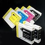 むさしのメディア BROTHER(ブラザー) LC10-4PK+BK2 (4色+黒2個) 互換インクカートリッジ