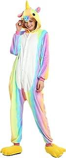 ECHERY Unisexe Enfants Combinaison Pyjama de Bande dessin/ée V/êtements de Nuit Animal Cosplay Costume de Lapin