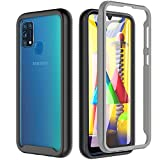 BESINPO Cover Samsung Galaxy M31, Cover M31 Trasparente Antiurto 360° Full Body Protettiva con...