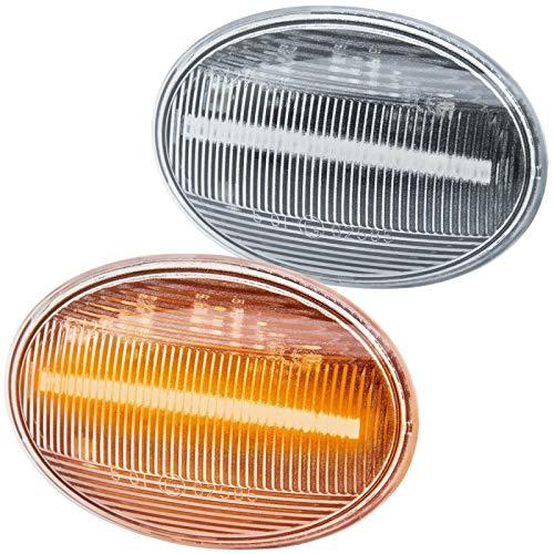 rm-style 71108-1 LED Side Indicator Black Smoke
