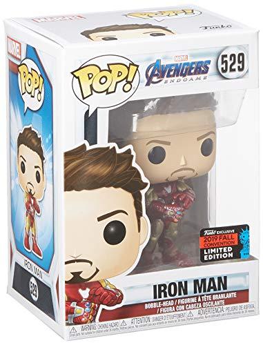 Funko Pop Iron Man (Los Vengadores: Endgame 529) Funko Pop Los Vengadores
