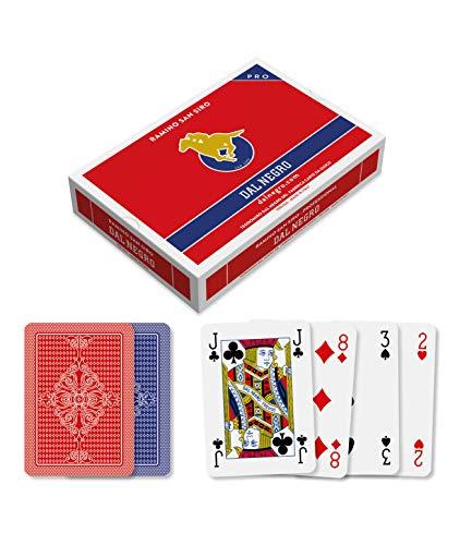 Dal Negro- Ramino San Siro plastica Carte da Gioco, Multicolore, 024129