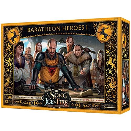 Edge Entertainment Canción de Hielo y Fuego: Juego de miniaturas - Héroes Baratheon I, EECMSI62