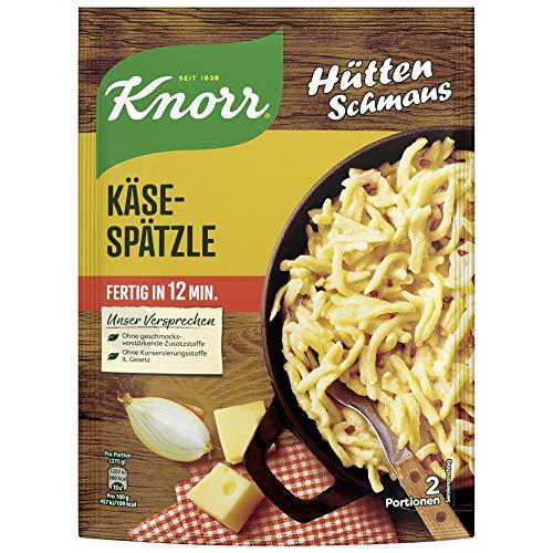 Knorr Hüttenschmaus Nudel-Fertiggericht Schwäbische Käse-Spätzle 149 g