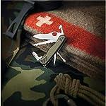 Victorinox Unisex's Swiss Soldiers Knife, Green/Black, Large