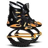 YLOVOW Aire Retrocesos De Antigravedad Ejecución De Botas Unisex Aptitud del Salto Zapatos De La Despedida Zapatos,Naranja,43