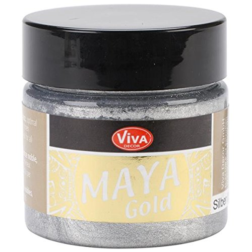 CREATIV DISCOUNT NEU Viva Decor Maya Gold 45 ml, Silber