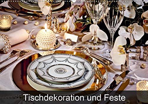 Tischdekoration und Feste (Wandkalender 2021 DIN A2 quer)