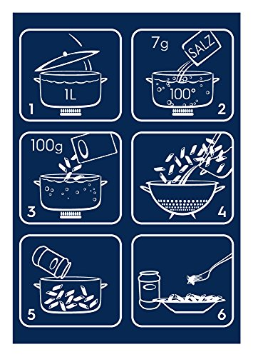 Barilla Pasta Hartweizen Academia Fusilli – 12er Pack (12x500g) - 4