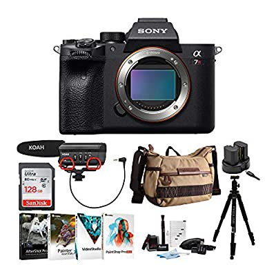 Sony Alpha a7R IV Mirrorless Digital Camera (Body Only) Bundle (8 Items) by Sony