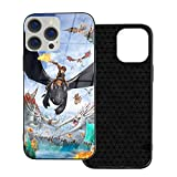 For Iphone 12 Case How To Train Your Dragon Case Anti-Fall 3d Print Tpu + Glass High-End Phone Case