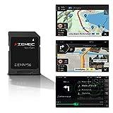 ZENEC Z-EMAP56: Micro SD-Karte mit PKW Navigation für ZENEC Infotainer Z-N956, 3-D Karten für Europa, TMC, Sonderziele