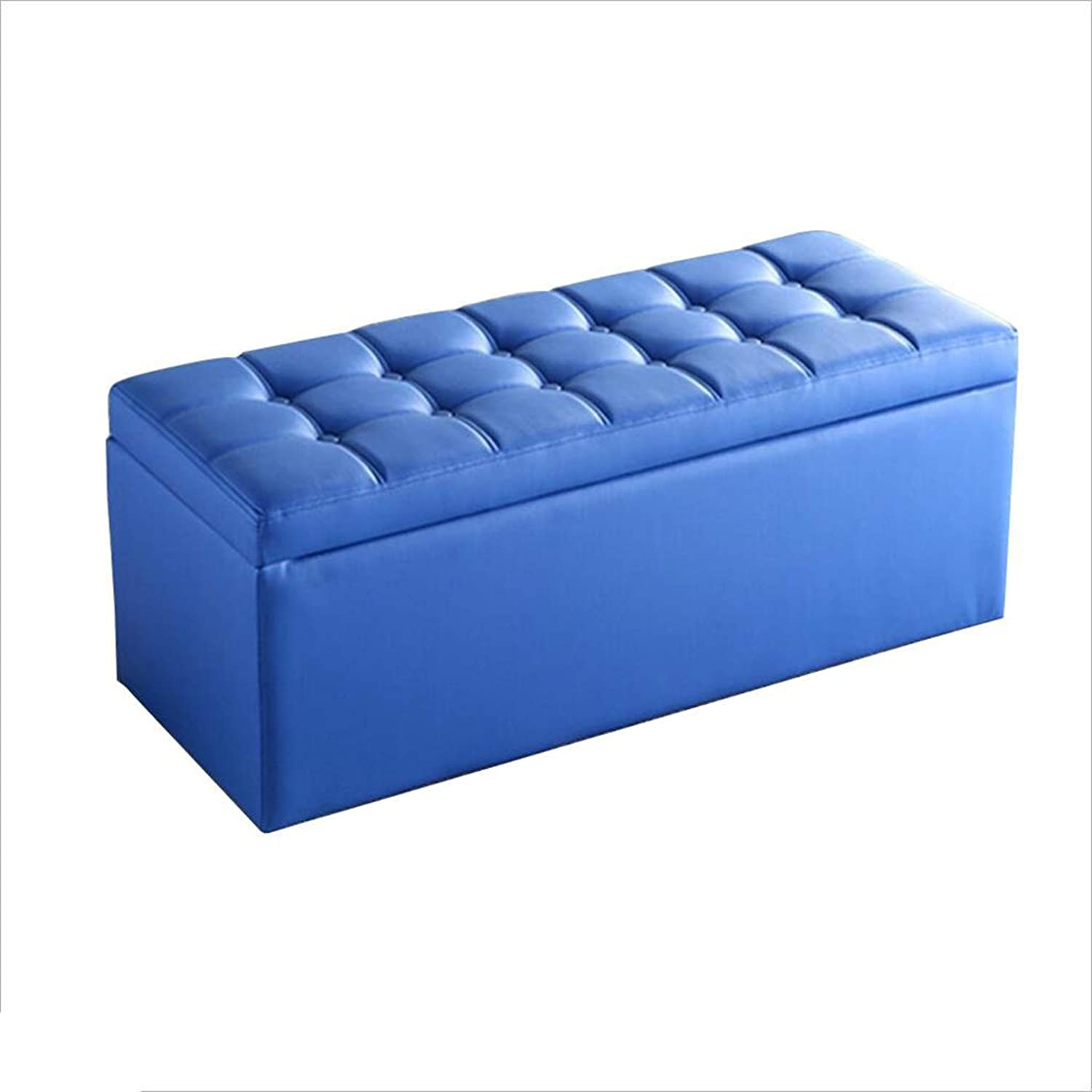 A-Fort DLDL Multi-Size Optional Storage Sofa Stool PU New Series of stools (Size   40  40  40cm)