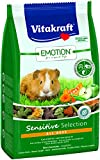 Vitakraft Alleinfutter für Meerschweinchen, Ausgewogene Futtermischung, Getreidefrei, Emotion Sensitive Selection (5 x 600g)