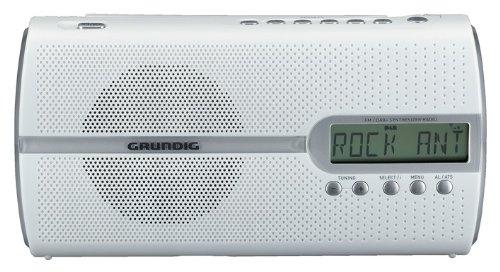Grundig Music 51 DAB+ Digitalradio (UKW/RDS-Tuner, PLL) matt weiß