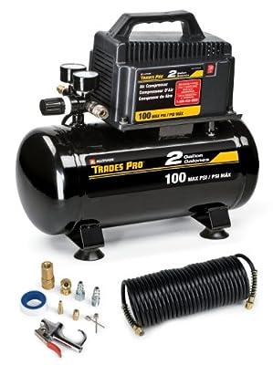 Tradespro 837254 2 Gallon Air Compressor Kit from ALCX9