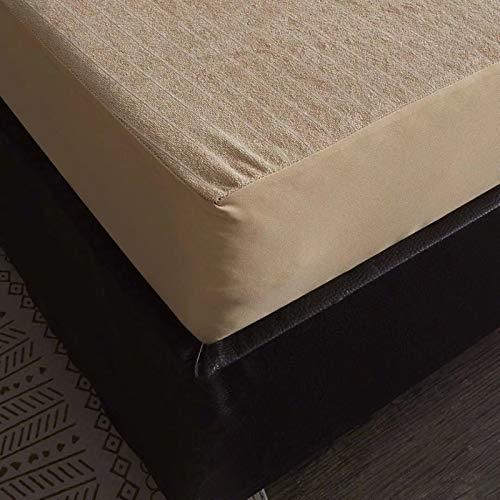 IKITOBI Sábanas bajeras, suaves, elásticas, no planchadas, resistentes a las arrugas, 120 x 200 + 25 cm