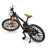 Boquite  10 bicicleta de aleación de alta simulación para niños de bicicleta de montaña modelo regalo para los amantes de la moto (naranja)