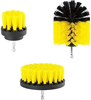 All Purpose Premium Drill Attachment Brush Cleaner for Bathrooms/Bathtub/Grout/Sinks/Shower/Tile/Car Interior/Floor Mats K...
