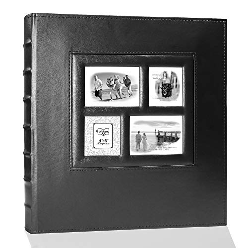 álbum de fotos hojas negras fabricante Holoary