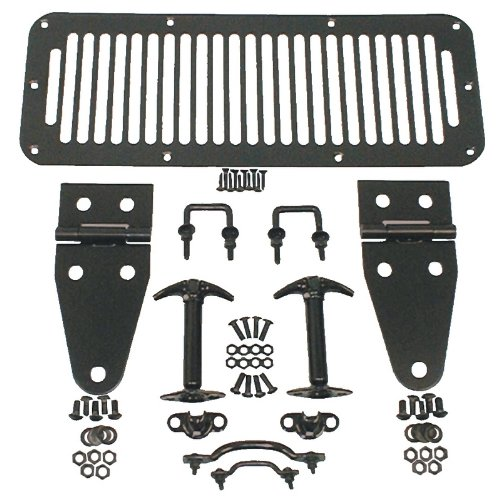 Rugged Ridge 11201.01 Kit de Capucha Negra