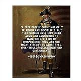 George Washington Quotes Wall Art-