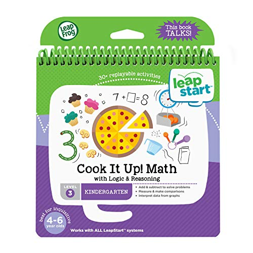 LeapFrog 21607 LeapStart Reception Cook It Up Maths and Logic and Reasoning Activity Book