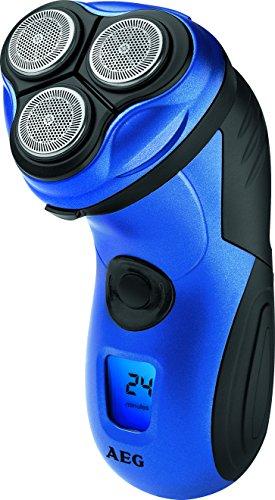 AEG HR 5655 - Afeitadora eléctrica rotativa para hombre, color azul