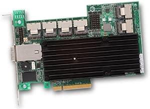 LSI Logic MegaRAID 9280-24i4e SAS RAID Controller - Serial Attached SCSI, Serial ATA/600 - PCI Express 2.0 x8 - Plug-in Card - 0, 1, 5, 6, 10, 50, 60, JBOD - 512MB