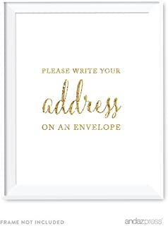 Best write your address sign Reviews
