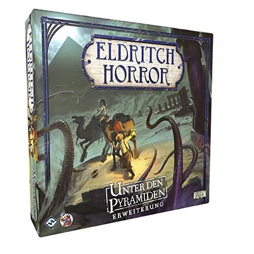 Eldritch Horror - Unter den Pyramiden - Erweiterung Brettspiel | DEUTSCH | Lovecraft Horror