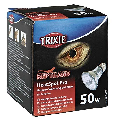 Trixie 76013 HeatSpot Pro, Halogen Wärme-Spotlampe, ø 65 × 88 mm, 50 W