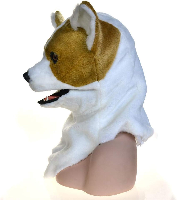 WFHhsxfh Maschere di Anime di ceeggina in Costume di autonevale for Cani con Costume a Bocca Piena di Animali a Testa Piena in Vendita Maschera Maschera (Coloree   gituttio)