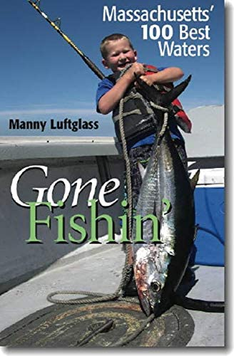 Gone Fishin Massachusetts 100 Best Waters product image