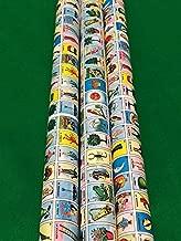 Mini Mexican Loteria Bingo Gift wrap - 2 Paper Roll for Boards