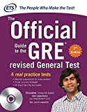 gre the official guide to the revised general test with cd-rom, second edition (gre: the official guide to the general test) by n/a educational testing service (1-aug-2012) paperback
