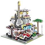 WDLY 1234 PCS Guitarra Casa Bloques de construcción de Juguete Kit Modelo Set, Lego Compatible Construir para niños, niñas, niños y Adultos