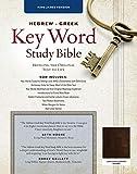 The Hebrew-Greek Key Word Study Bible: KJV Edition, Brown Genuine Goat Leather