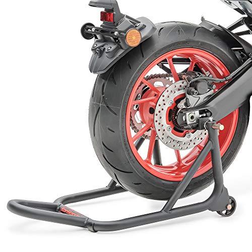 ConStands - Motorrad Montageständer Suzuki GSX-S 125 / GSX-S 750 Schwarz Matt Hinten XM Universal
