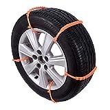 Cadenas QIDOFAN antideslizante Cadenas nueva 10PCS / SET universal antideslizante de neumáticos de invierno Diseño plástico del coche SUV Ruedas Durable nieve Cadenas de nieve Car-Styling