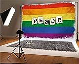 Fondo de vinilo para fotógrafos de Pride de 20 x 15 cm, dis
