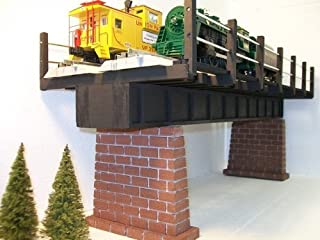 Model Railroad O Gauge DOUBLE TRACK Girder Bridge