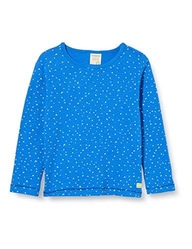 loud + proud Jungen Shirt Waffle Knit Organic Cotton Langarmshirt, Blau (Cobalt Cob), (Herstellergröße: 86/92)