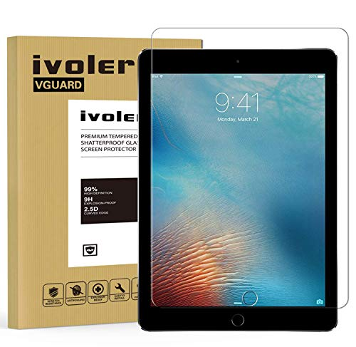 ivoler Protector de Pantalla para iPad 9.7 Pulgadas 2018 / iPad 9.7...