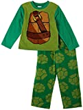 Ninja Turtles Boys Pajama Set, Size 8 Green
